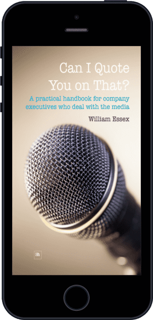 Cover of Can I Quote You on That? (Ebook - phone) by William Essex