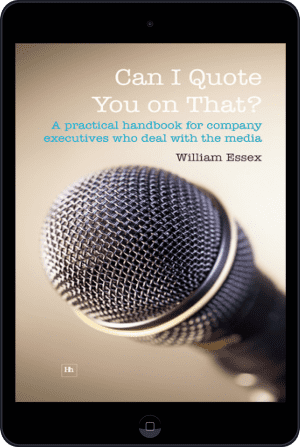 Cover of Can I Quote You on That? (Ebook - tablet) by William Essex