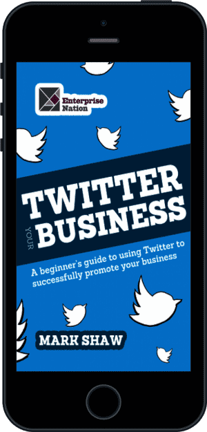 Cover of Twitter Your Business (Ebook - phone) by Mark Shaw