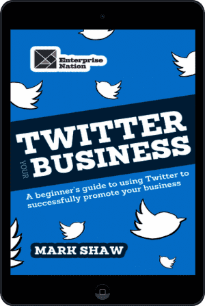 Cover of Twitter Your Business (Ebook - tablet) by Mark Shaw
