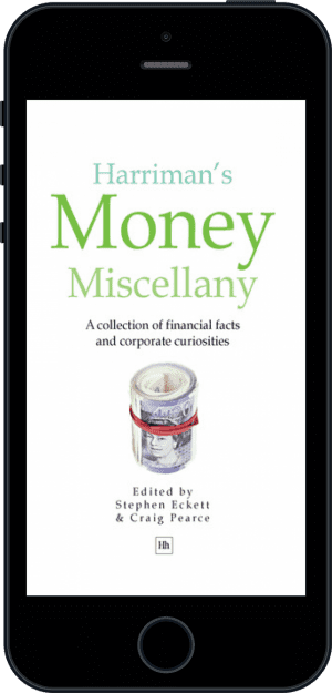 Cover of Harriman's Money Miscellany (Ebook - phone) by Stephen Eckett