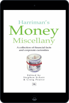 Cover of Harriman's Money Miscellany by Stephen Eckett