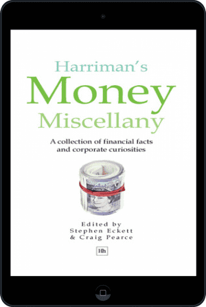 Cover of Harriman's Money Miscellany (Ebook - tablet) by Stephen Eckett