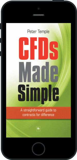 Cover of CFDs Made Simple (Ebook - phone) by Peter Temple