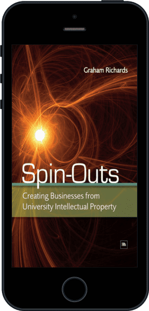 Cover of Spin-Outs (Ebook - phone) by Graham Richards