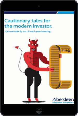 Cover of Cautionary tales for the modern investor (Ebook - tablet) by Aberdeen Asset Management