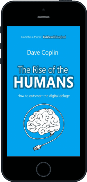 Cover of The Rise of the Humans (Ebook - phone) by Dave Coplin