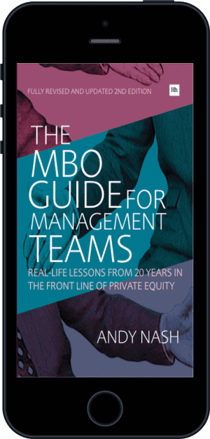 Cover of The MBO Guide for Management Teams (Ebook - phone) by Andy Nash