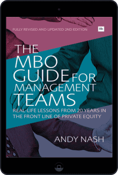Cover of The MBO Guide for Management Teams by Andy Nash