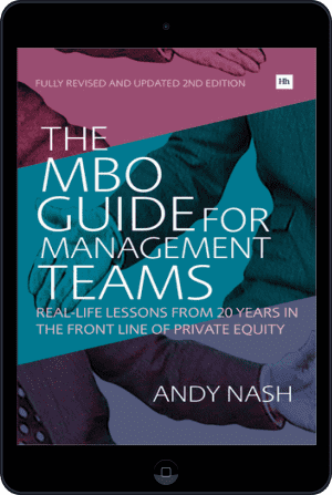 Cover of The MBO Guide for Management Teams (Ebook - tablet) by Andy Nash