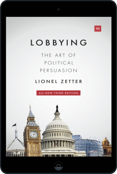 Cover of Lobbying by Lionel Zetter