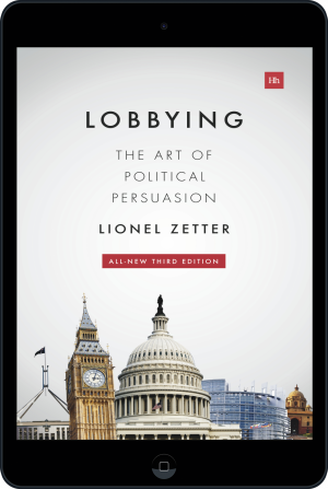 Cover of Lobbying (Ebook - tablet) by Lionel Zetter