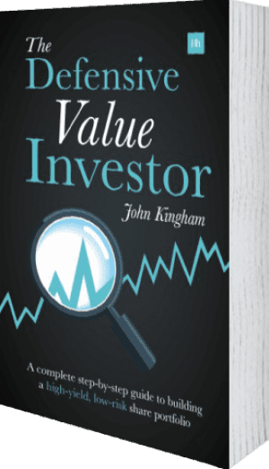 Cover of The Defensive Value Investor (Paperback) by John Kingham