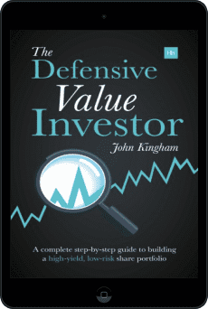 Cover of The Defensive Value Investor by John Kingham