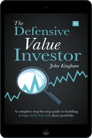 Cover of The Defensive Value Investor (Ebook - tablet) by John Kingham