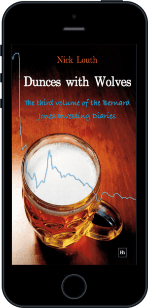 Cover of Dunces with Wolves (Ebook - phone) by Nick Louth
