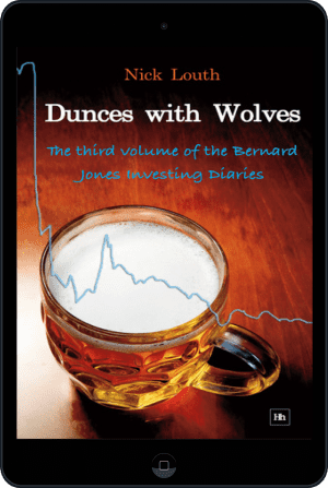 Cover of Dunces with Wolves (Ebook - tablet) by Nick Louth