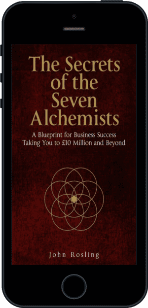 Cover of The Secrets of the Seven Alchemists (Ebook - phone) by John Rosling