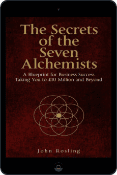 Cover of The Secrets of the Seven Alchemists by John Rosling