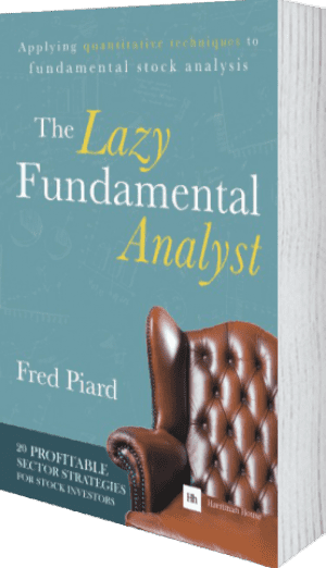 Cover of The Lazy Fundamental Analyst (Paperback) by Fred Piard