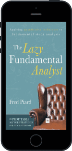 Cover of The Lazy Fundamental Analyst by Fred Piard