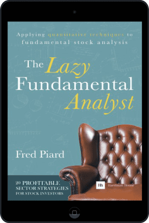 Cover of The Lazy Fundamental Analyst (Ebook - tablet) by Fred Piard