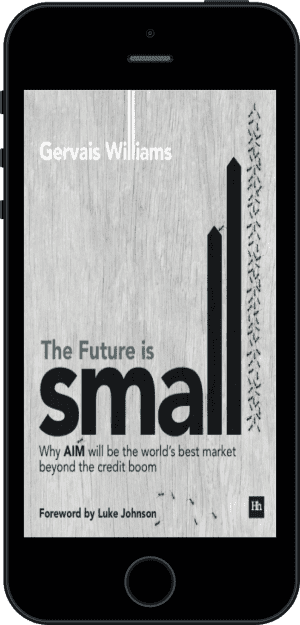 Cover of The Future is Small (Ebook - phone) by Gervais Williams