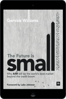 Cover of The Future is Small by Gervais Williams