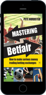 Cover of Mastering Betfair by Pete Nordsted
