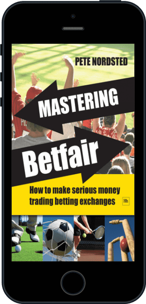 Cover of Mastering Betfair (Ebook - phone) by Pete Nordsted