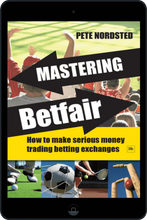 Cover of Mastering Betfair (Ebook - tablet) by Pete Nordsted