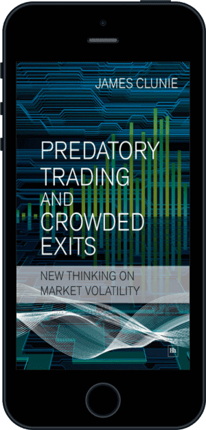 Cover of Predatory Trading and Crowded Exits (Ebook - phone) by James Clunie