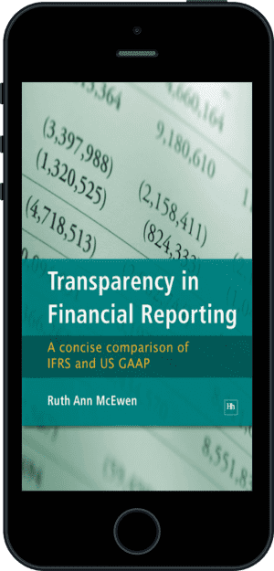Cover of Transparency in Financial Reporting (Ebook - phone) by Ruth Ann McEwen
