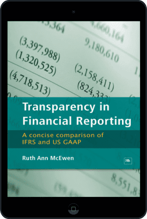 Cover of Transparency in Financial Reporting (Ebook - tablet) by Ruth Ann McEwen