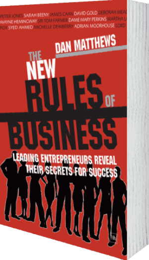 Cover of The New Rules of Business by Dan Matthews