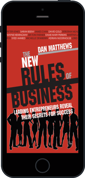Cover of The New Rules of Business (Ebook - phone) by Dan Matthews