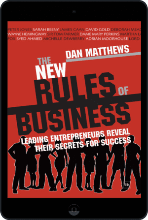 Cover of The New Rules of Business (Ebook - tablet) by Dan Matthews