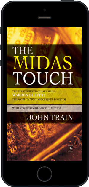 Cover of The Midas Touch (Ebook - phone) by John Train