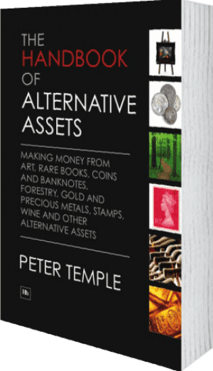 Cover of The Handbook of Alternative Assets (Hardback) by Peter Temple