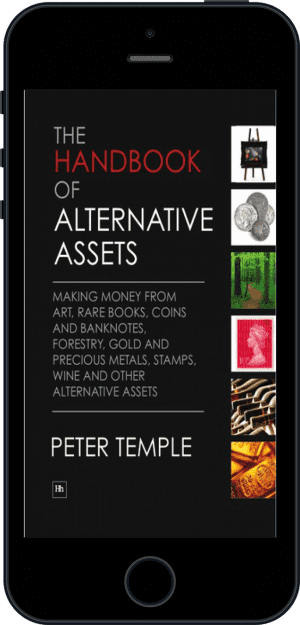 Cover of The Handbook of Alternative Assets (Ebook - phone) by Peter Temple