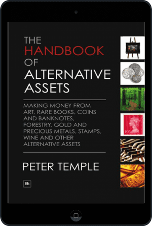 Cover of The Handbook of Alternative Assets (Ebook - tablet) by Peter Temple