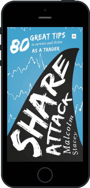 Cover of Share Attack (Ebook - phone) by Malcolm Stacey
