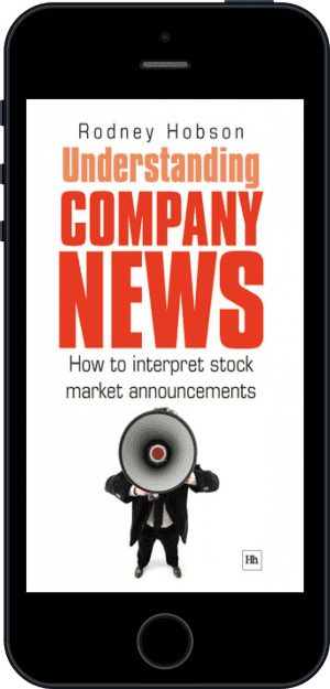 Cover of Understanding Company News (Ebook - phone) by Rodney Hobson
