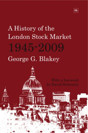 Cover of  by George G. Blakey