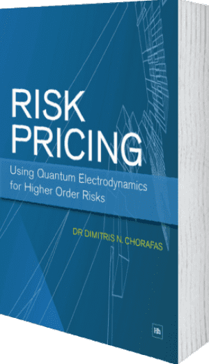 Cover of Risk Pricing: Using Quantum Electrodynamics for Higher Order Risks (Paperback) by Dimitris N. Chorafas