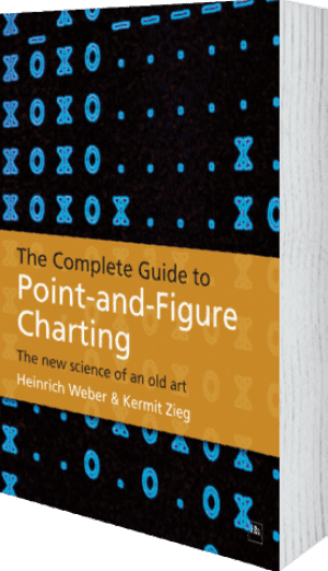 Cover of The Complete Guide to Point-and-Figure Charting (Paperback) by Kermit Zieg and Heinrich Weber