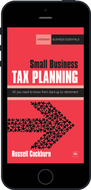 Cover of Small Business Tax Planning (Ebook - phone) by Russell Cockburn