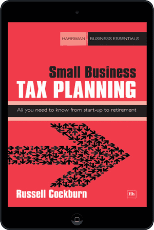 Cover of Small Business Tax Planning (Ebook - tablet) by Russell Cockburn
