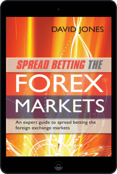 Cover of Spread Betting the Forex Markets by David Jones