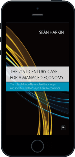 Cover of The 21st-Century Case for a Managed Economy (Ebook - phone) by Sean Harkin